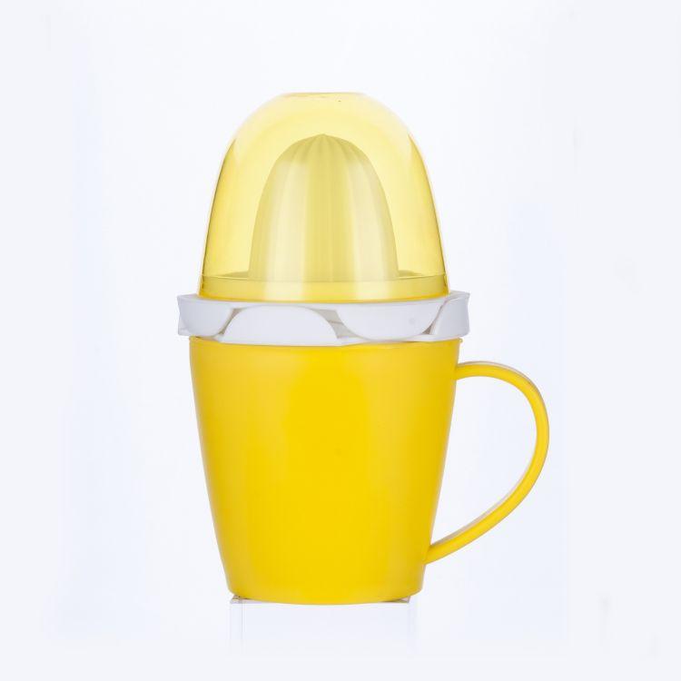 手动迷你榨汁器水果蔬菜榨汁器二合一塑料挤压榨汁器定制批发
