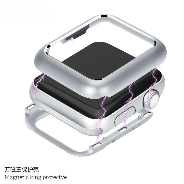 适用于apple Series 4苹果手表4代40/44mm万磁王手表保护壳防摔套