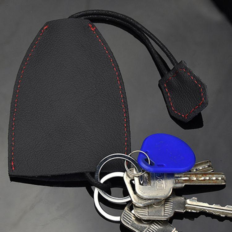 厂家真皮钥匙包直销 头层牛皮汽车钥匙扣挂饰礼品赠品定制LOGO