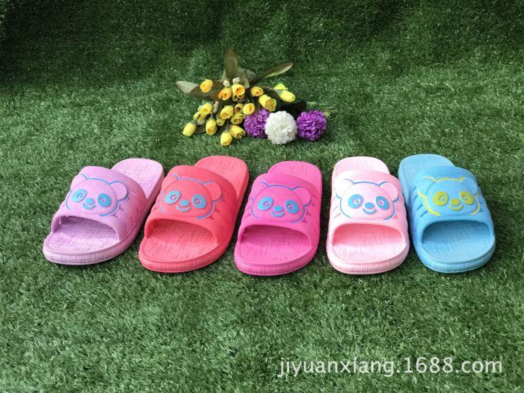 夏季熊猫女士凉拖鞋浴室鞋2017新款女士拖鞋厂家直销8706