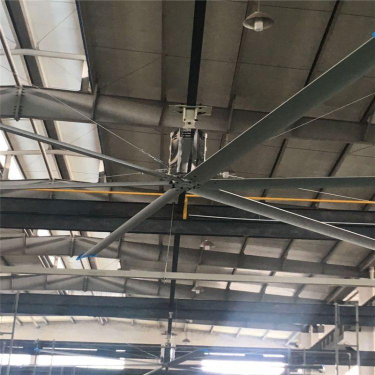 河北廊坊工业大风扇一台 大功率吊扇7.2米直径可定制高风量