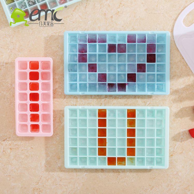 优质安全无毒食品级材质96格大钻石冰格创意制冰模具盒夏季促销