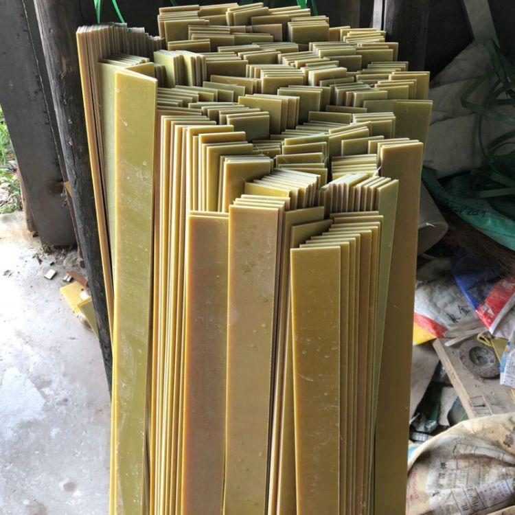 绝缘锂电池专用0.8mm环氧板 黄色环氧树脂板加工雕刻玻璃纤维板