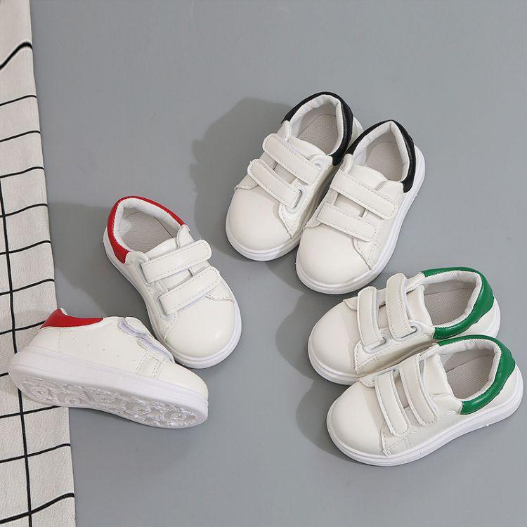 2018春季新款轻便小白鞋韩版爆款板鞋儿童休闲鞋厂家直销批发代发