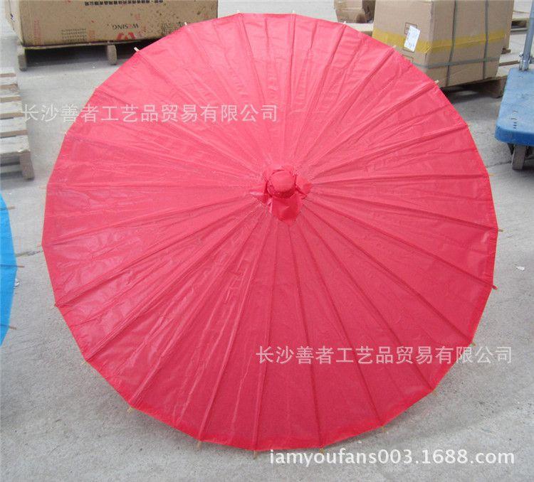 批发半径42CM半径彩色纸伞手工绘画白伞摄影装饰吊饰道具伞