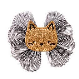 欧美出囗金宝贝发饰女宝宝发夹 儿童女童小猫咪发卡头饰发夹胶夹