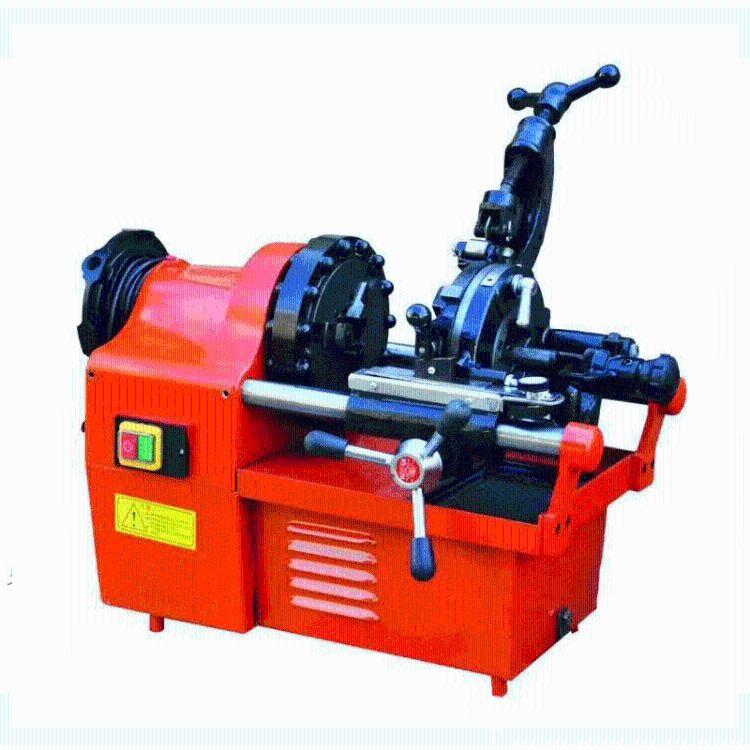 厂家直销多尺寸电动套丝设备 水管套丝专用交流电源套丝机