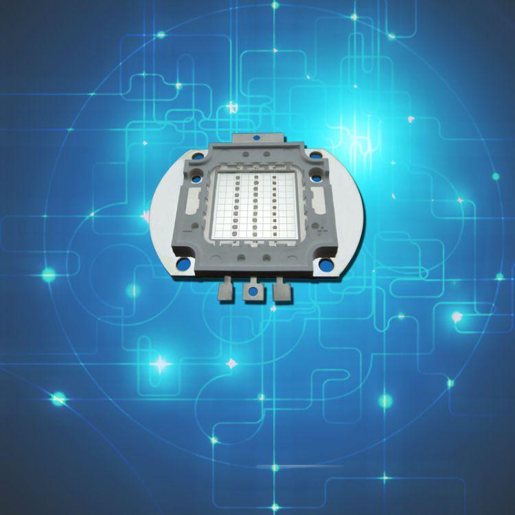 90W全彩大功率LED灯珠 90WRGB灯珠倒装集成光源户外亮化工程用
