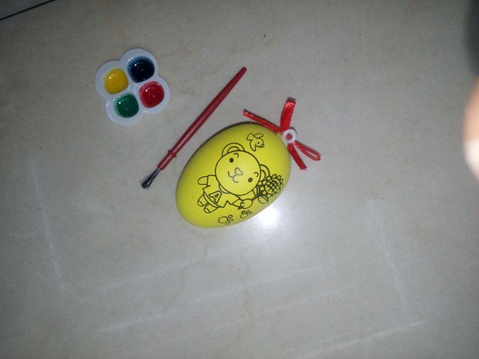 厂家批发 复活节彩蛋diy 儿童手绘蛋diy 圣诞 装饰手绘蛋 可定制