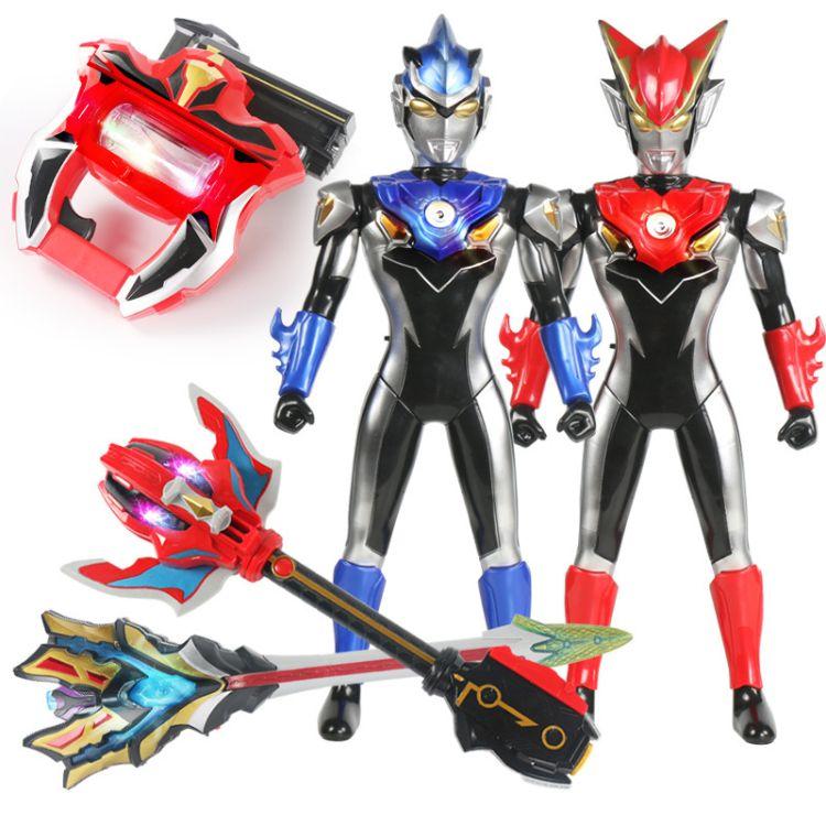 奥特曼玩具捷德变身器DX宇宙超人套装怪兽模型无限赛罗武器罗布