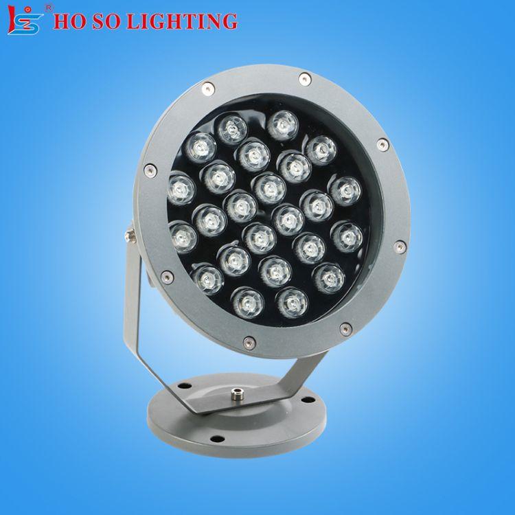 LED水底灯别墅游泳池水下射灯户外高亮防水IP65铝材水底灯