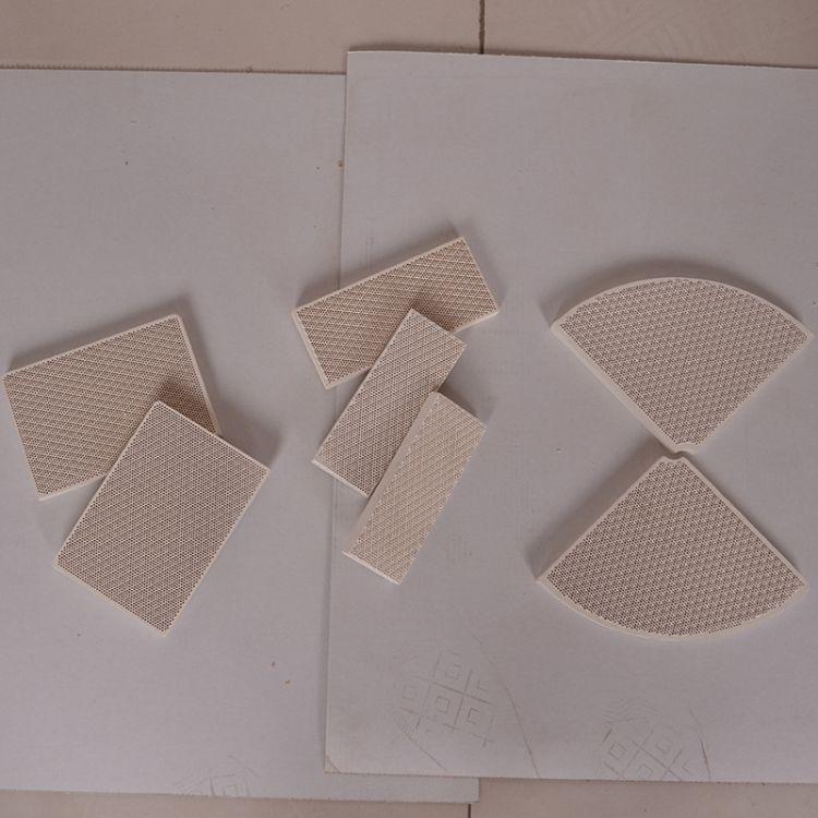 瓦斯炉头陶瓷片 红外线蜂窝陶瓷板 燃烧器陶瓷片 红外线炉头