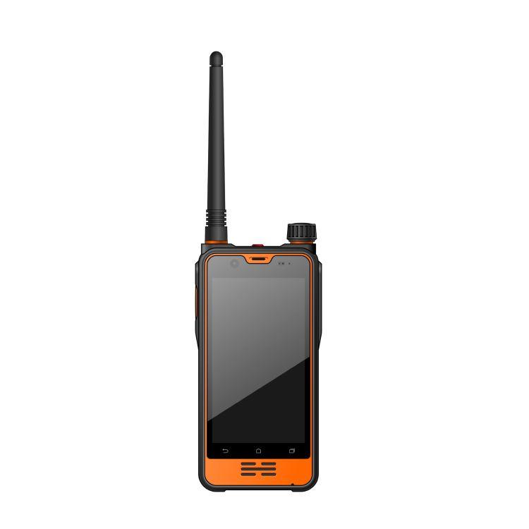 高精度差分定位智能终端4G全网通DMR数模对讲POC全网对讲三防手机