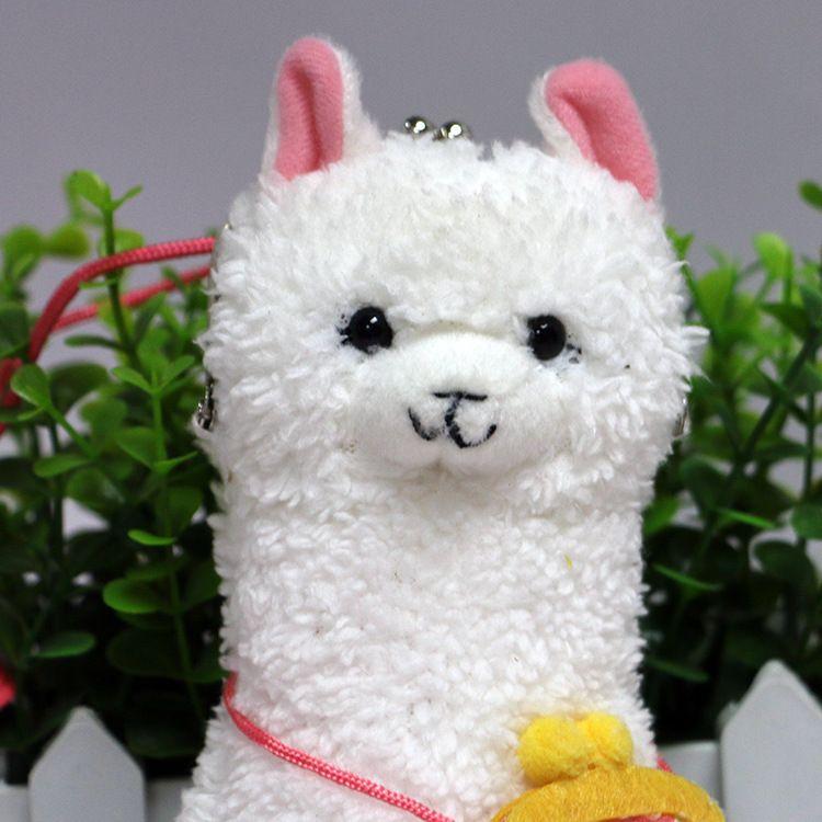 创意设计吉祥物羊驼公仔造型零钱包厂家可加LOGO OEM定制批发