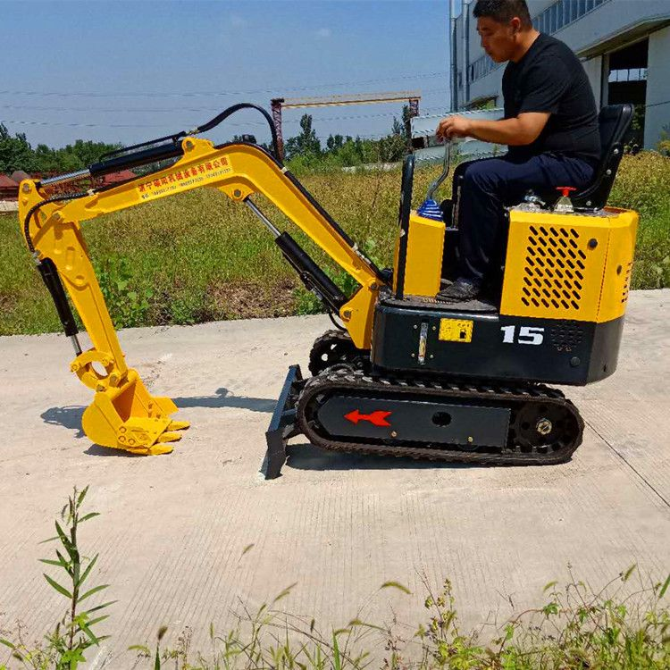 路邦机械履带式挖掘机 小型液压挖掘机 挖土机生产厂家