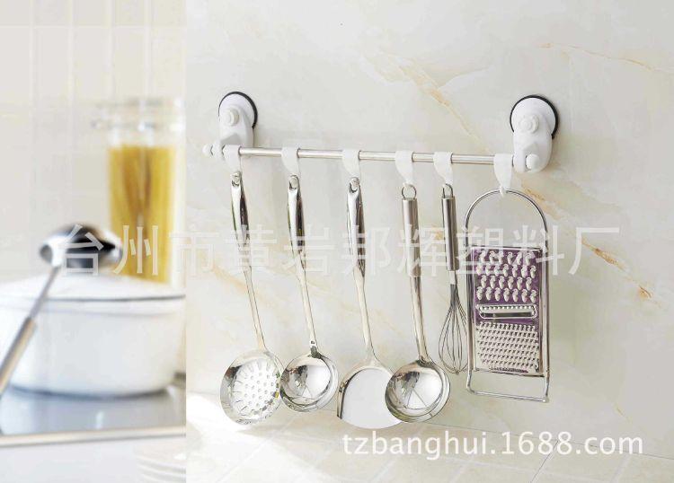 美千惠浴室第3代魔力贴强力真空吸盘不锈钢挂钩,整理架,毛巾架
