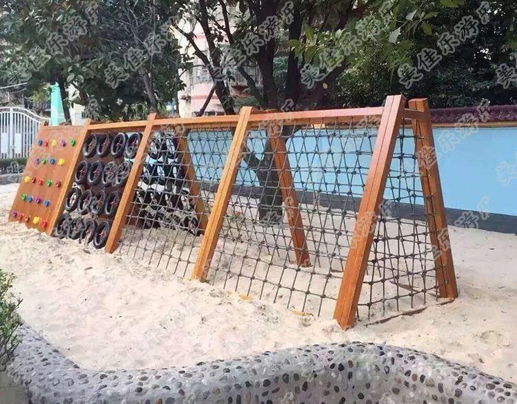 户外游乐设施 幼儿园儿童户外爬网 攀爬架 爬墙攀登架 厂家直销