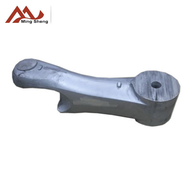 锌合金精铸装潢件 精密铝合金精铸件加工 机械手臂订制