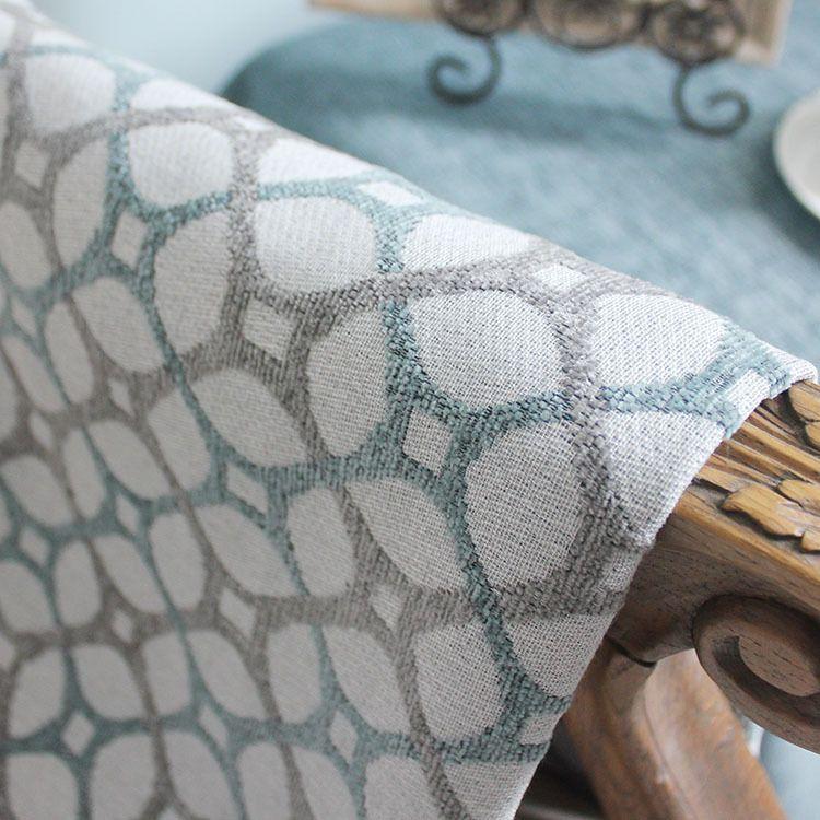 雪尼尔沙发布沙发套抱枕桌旗桌布靠垫坐垫窗帘家居饰品面料