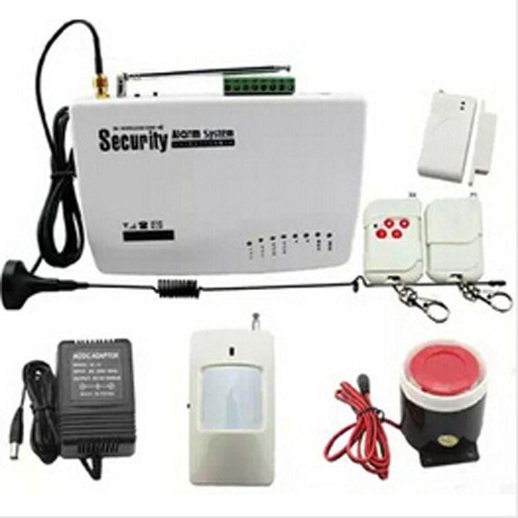 GSM防盗报警器 无线家用防盗报警器 家庭防盗报警系统 红外防盗器