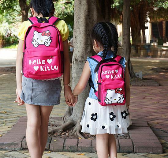 新款韩版幼儿园叮当防水料卡通小背包鸭子双肩包儿童汽车学生书包
