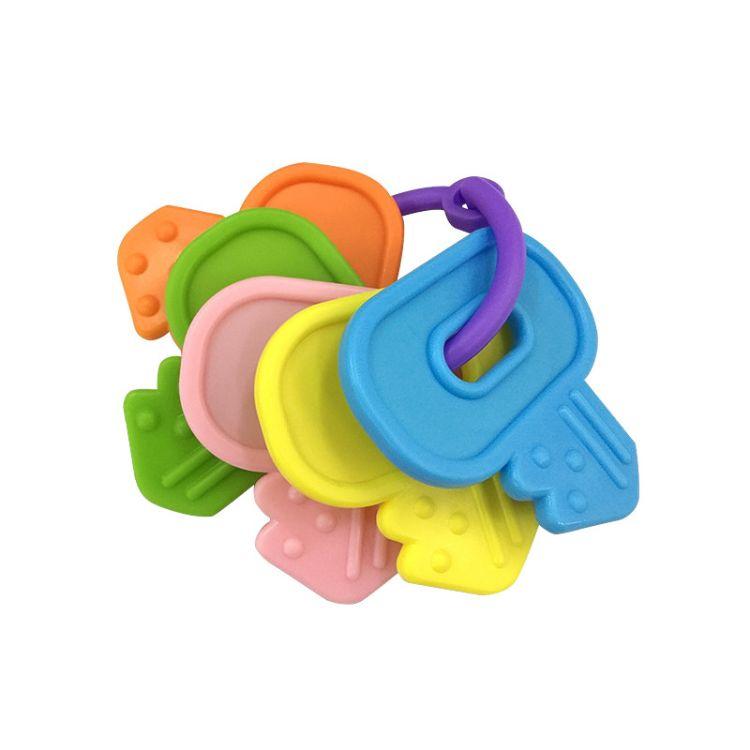 圣恩 婴儿玩具配件 塑料彩色牙胶 儿童塑料玩具
