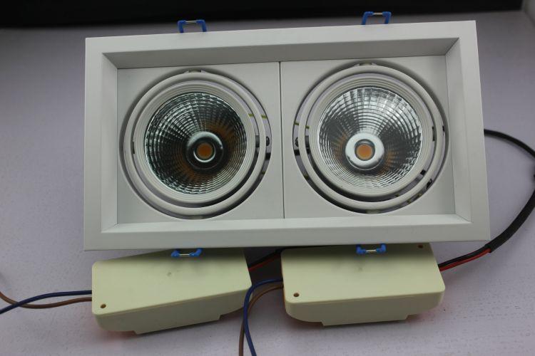 CREE科瑞芯片 方形射灯 酒店 商场 服装店,工程用灯 10W 20W 30W