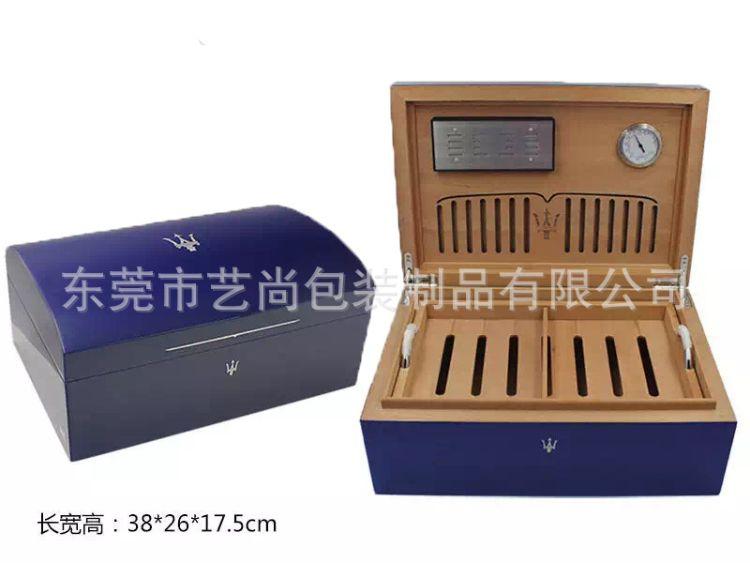 东莞艺尚钢琴烤漆雪茄盒工艺品厂雪茄盒 雪茄保湿盒 雪松木雪茄盒