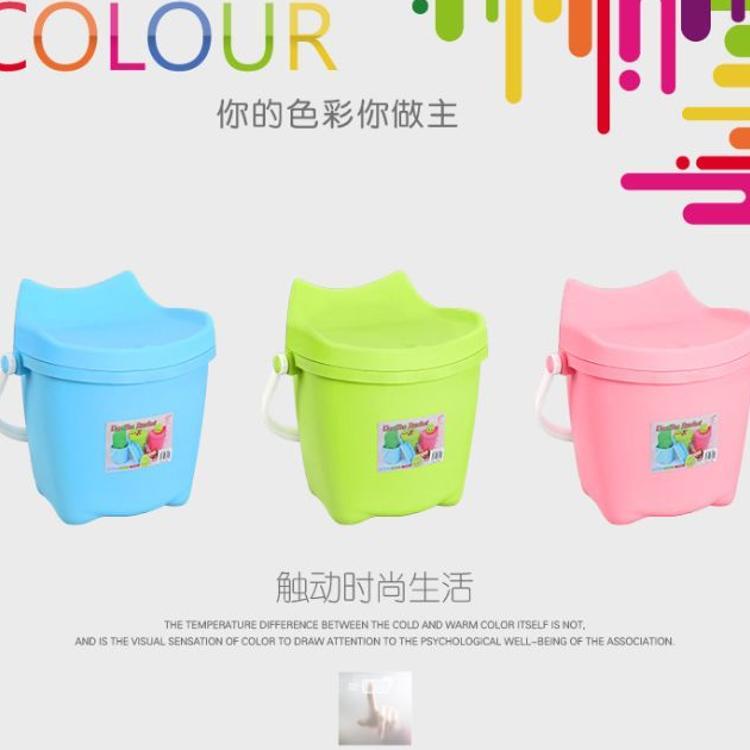厂家直销全新PP料制造韩式创意多功能储物桶