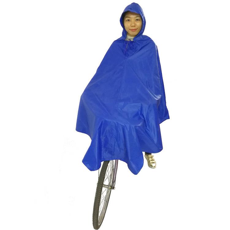 尼龙雨衣成人女时尚徒步自行车加大单人雨披骑行防水摩托车骑车