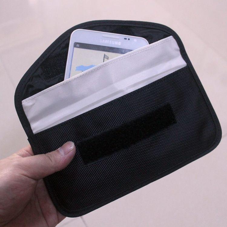宸富顺宇AR-1601厂家手机信号屏蔽袋 车钥匙信号屏蔽袋 现货防辐射包 手机收纳袋