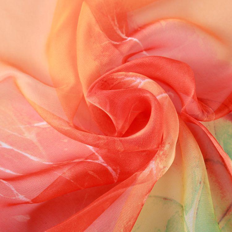 絲巾女百搭雪紡新款超大遮陽沙灘巾夏季防曬披肩女士紗巾工廠直銷