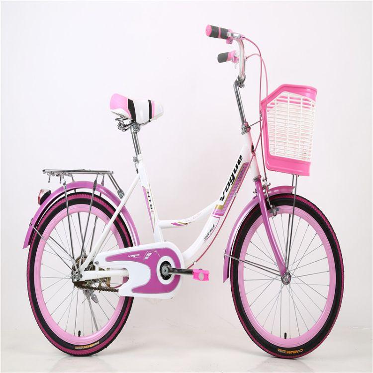 自行车轻便代步成人学生城市淑男女款式普通勤车复古迷你公主单车