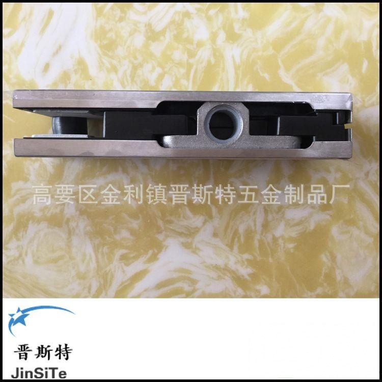 厂家直销高档304不锈钢玻璃门夹、无框玻璃门配件YF-906