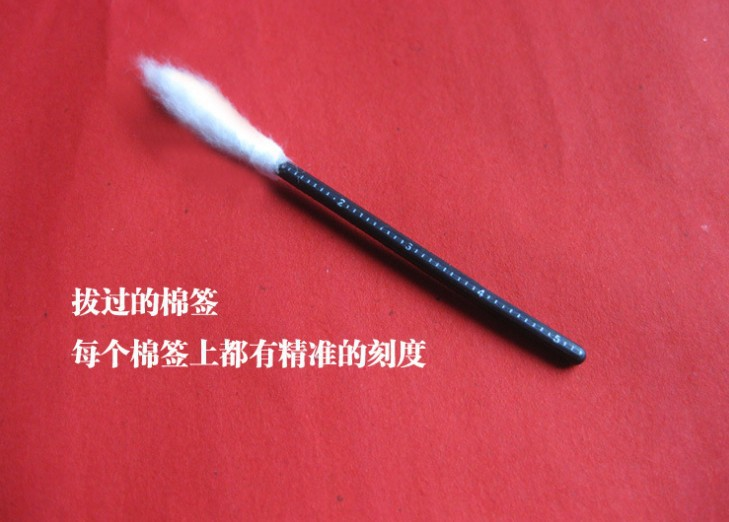 白色脱脂棉签 油耳朵专用 100支装掏耳朵软杆橡胶条棉签