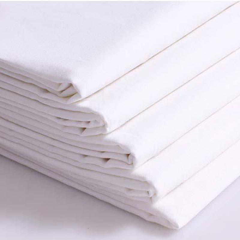 高档纯棉色布高支高密全棉喷气布60支长绒棉家纺宽幅素色布料批发