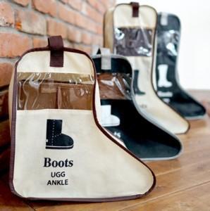 韩版靴袋 旅行鞋袋 家居靴子收纳袋 鞋子收纳袋 可视防尘靴套靴罩