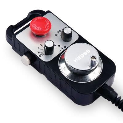 瑞加德机床数控系统手持盒移动手轮 1474-100B-24E 带即停开关