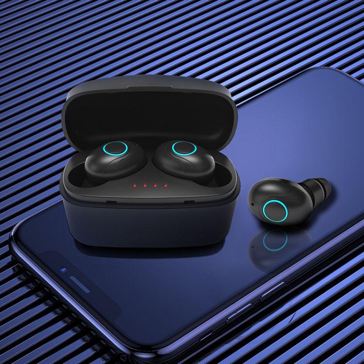 外贸跨境原厂家批货 广百思tws蓝牙耳机5.0双耳无线 新款供应