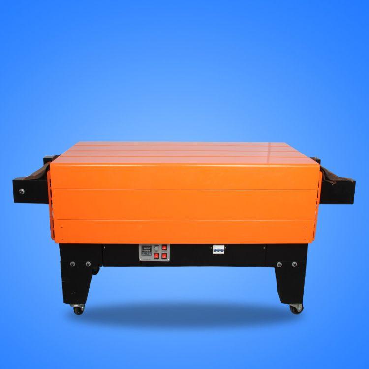 厂家直销 加长带滑轮喷气式热收缩机 加大电机省电热收缩膜包装机