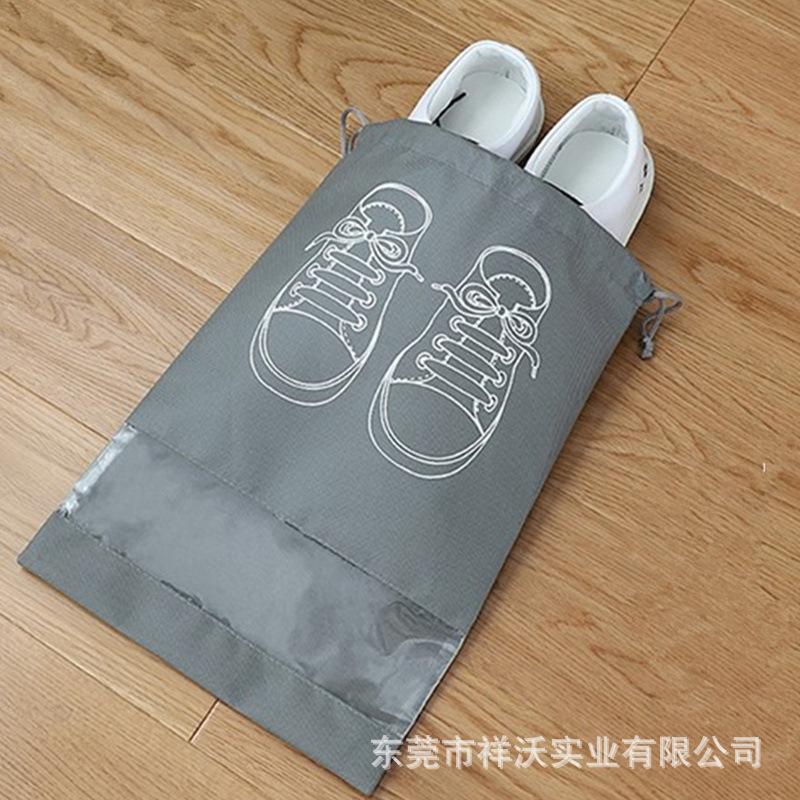 全新料80g无纺布鞋套透明装鞋的袋子防尘收纳包旅行居家必备
