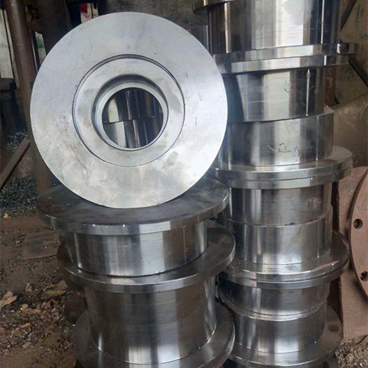 厂家直销铸钢矿车轮 矿车轮对 实心轮对 实心轮 单边轨道轮