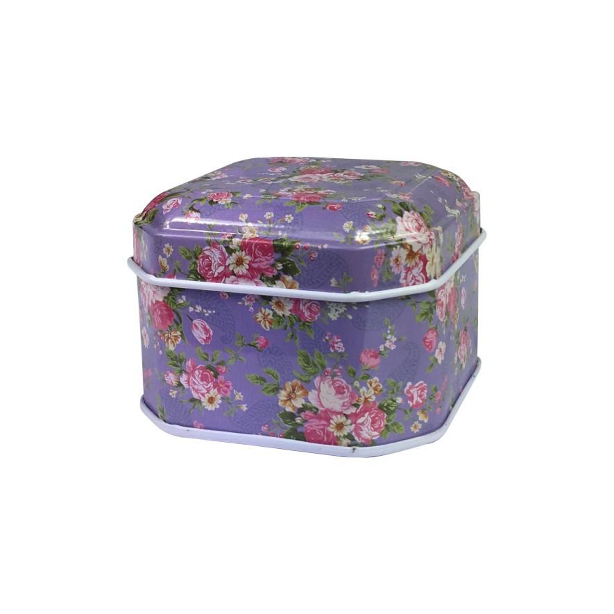 厂家定制马口铁礼品包装铁盒 八角糖果盒 新年产品收纳盒加工定做