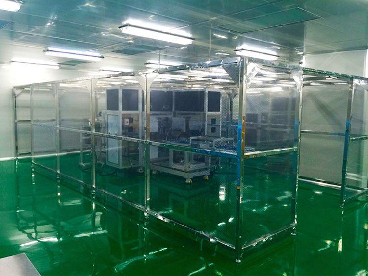 亨美厂家直销不锈钢洁净棚、无尘棚、洁净棚可订制免费上门安装保修一年大力促销