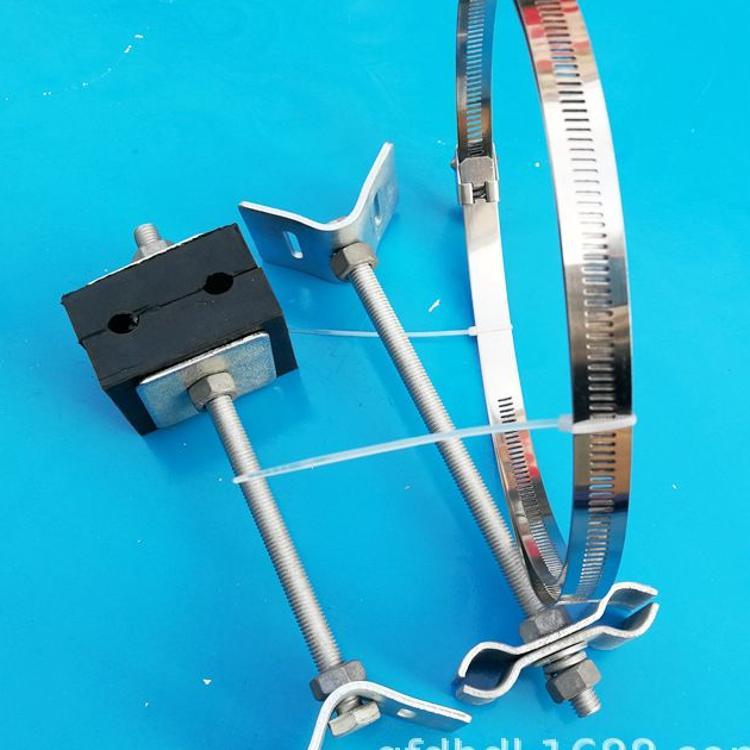 ADFSS/OPGW光缆引下线夹 加长杆用引下线夹 防磨损绝缘线缆卡具