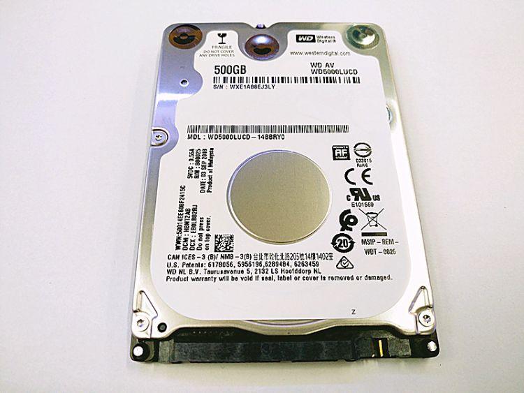 供应全新原装 500GB  笔记本硬盘 WD5000LUCD 2.5寸机械式硬盘