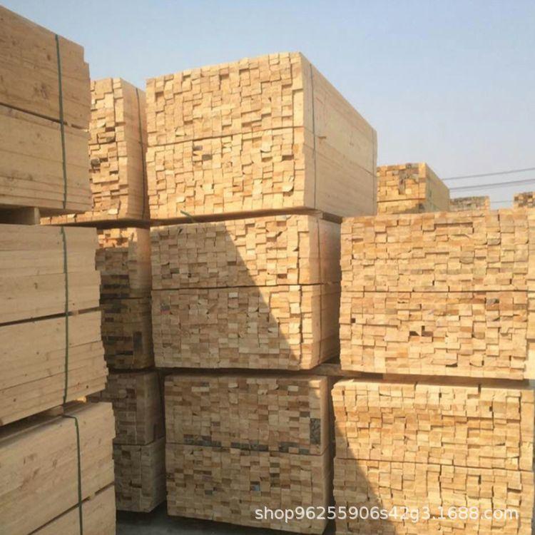 河北省厂家直销樟子松木方口料铁杉建筑木方方木条实木加工定制