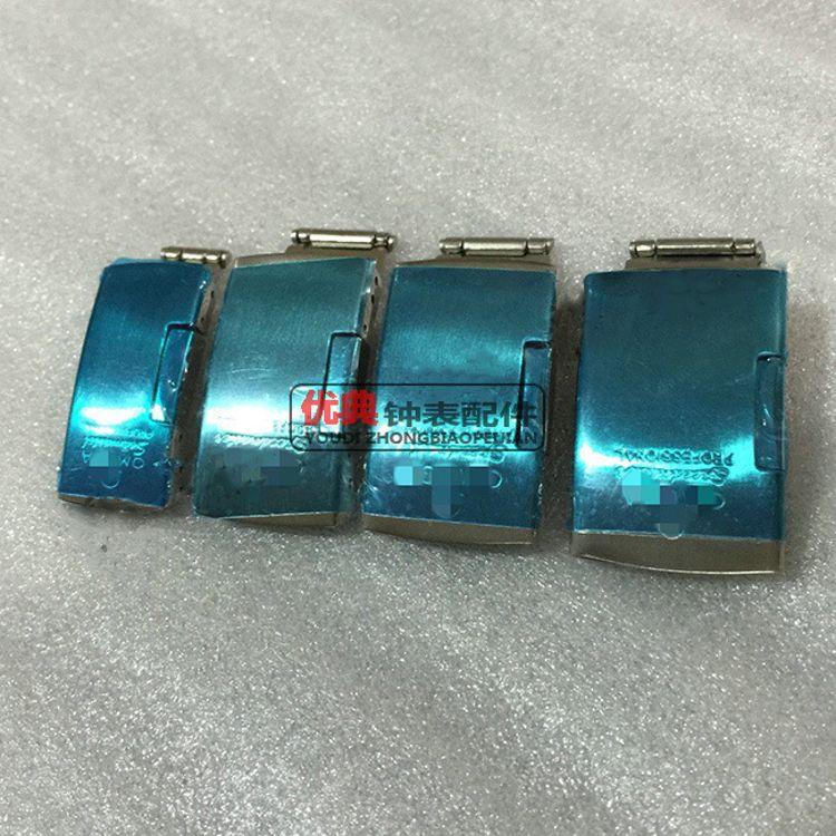 现货批发 不锈钢手表扣 旁按扣 手表皮带扣 钢带扣