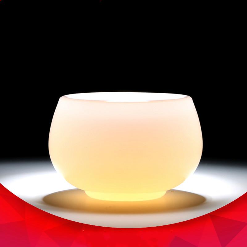德化白瓷茶器茶杯玉瓷养生品茗杯茶具茶杯功夫杯陶瓷个人杯批发