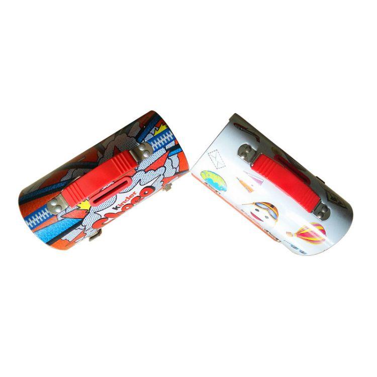 储钱罐 带手挽带锁扣铁罐 礼品铁盒包装供应